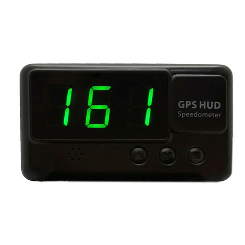 Car HUD Universal <font><b>GPS</b></font> <font><b>C60</b></font> Display Speedometer Digital Speed Projector Windshield Projection with Over-speed Alarm Parts image