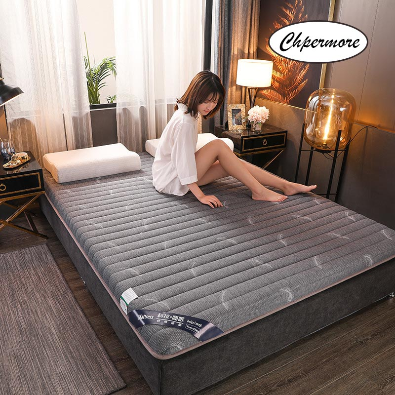 Mattresses Tatami Memory Latex Foldable Chpermore Queen-Size Natural 10cm Slow-Rebound