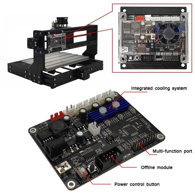 YOHUIE CNC 3018 Pro Laser Cutter/3Axis CNC Machine 2