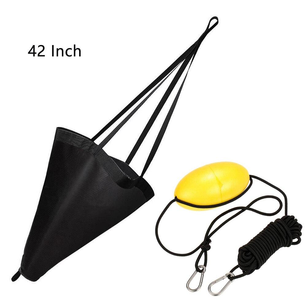 Инструмент для водных видов спорта, портативная дрифтерная леска, морской набор, дрог, ПВХ трос, Троллинг, каяк, каноэ, рыболовные снасти, яхта - Цвет: Brown 42 Inch