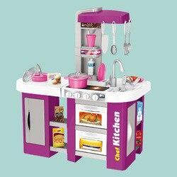 Многогранное пространство для хранения со звуком детской кухонной игрушки, светильник с экстрактором воды, пластиковая модель кухонной ут...