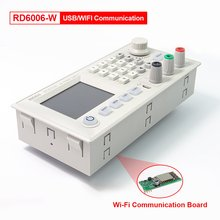 RD RIDEN-módulo de fuente de alimentación RD6006, RD6006W, WiFi USB, CC, reductor de corriente, voltímetro, 60V, 6A