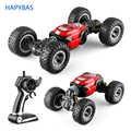 1:16 Four-wheel drive climbing remote control deformation car twisting car Charging children off-road electric boy toy