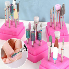 Ceramic Diamond Nail Drill Bit Set Milling Cutter for Manicure Pedicure Rotary Gel Clean File Electric Nail Drill Accessory D272 недорого