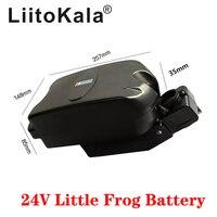 LiitoKala 24V 10Ah 12Ah 15Ah 20Ah Electric booser foldable bike little frog battery seat tube battery pack