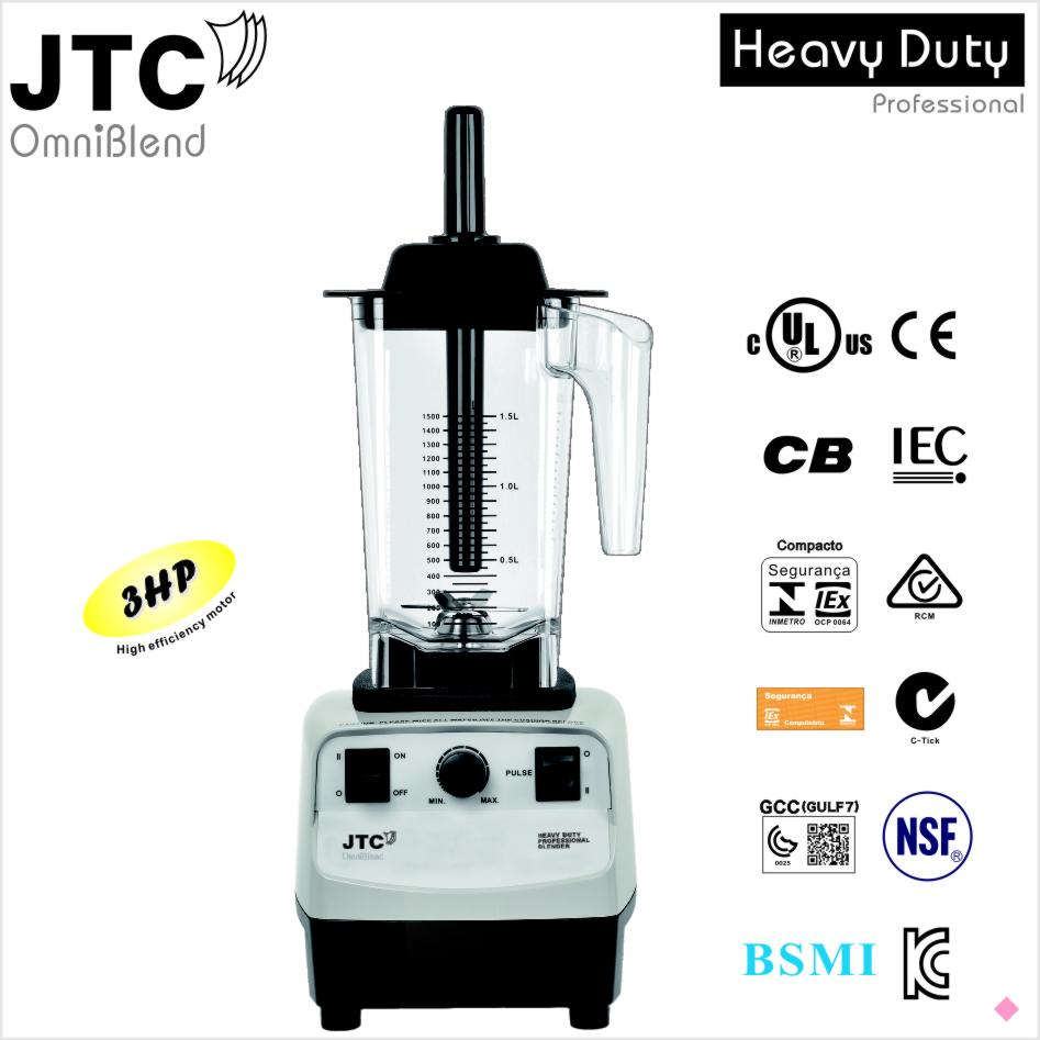 Commercial  blender with PC jar, Model:TM-767A, FREE SHIPPING, 100% GUARANTEED NO. 1 QUALITY IN THE WORLD.
