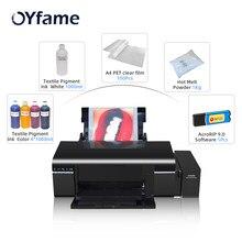 OYfame, Размер A4, L805, DTF, печать, прямая раскладная печать для всех фар, печатная машина DTF для принта темсветильник ЛКИ
