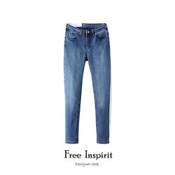 Новые модные повседневные весенне-летние брюки темно-синие черные женские модные удобные Леггинсы длинные узкие брюки женские джинсы