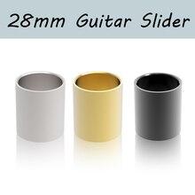 1 шт. Нержавеющая ползунок Deslizante Guitarra длина 28 мм гладкий край