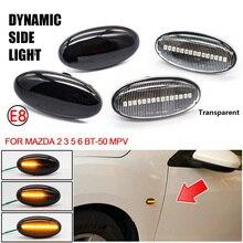 2 Teile/los LED Seite Marker Blinker Licht Dynamische Repeater Sequentielle Blinker Anzeige Lampe Für MAZDA 2 3 5 6 BT 50 MPV