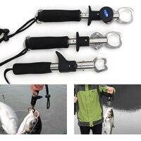 물고기 클램프 제어 스테인레스 스틸 낚시 립 그립 홀더 그래버 펜치 무게 규모 도구 무료 배송 낚시 도구