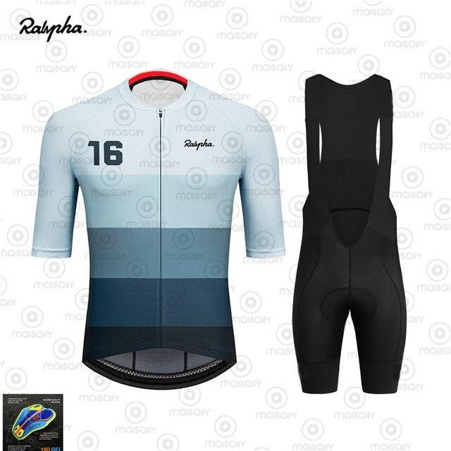 2020 ralvpha conjuntos de camisa roupas ciclismo pro bicicleta estrada roupas curtas verão bicicleta topos triathlon skinsuit ciclo camisa 2