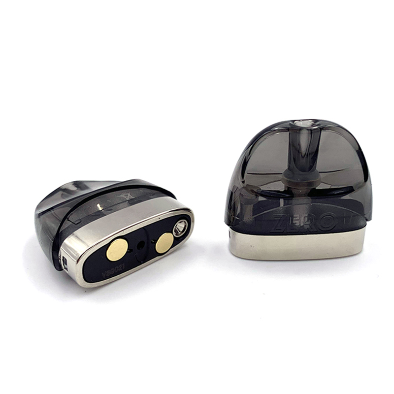 Vmiss 2pcs/box Zero Pod 2ml Cartridge Atomizer Tank With 1.0ohm Coil Core