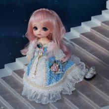 Aetop bjd boneca 1/8 bola-articulado bonecas moda bonito bjd bonecas amarelo feliz