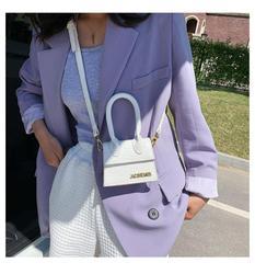 Jacquemus Mini Purses and Handbags for Women 2020 Crossbody Bag Famous Brand Totes Luxury Designer Hand Bags crocodile pattern
