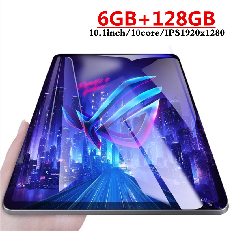 Google Play Android 7.0 6GB Ram 128GB Rom 10.1 Inch Tablet Ten Core 2.5D Glass 1920X1280IPS  WIFI Tablets Dual SIM Card 3G 4GLTE