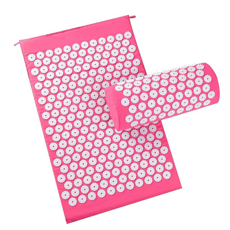 Relaxing Acupressure Massage Mat with Pillow set for Stress Pain and Tension releasing 4