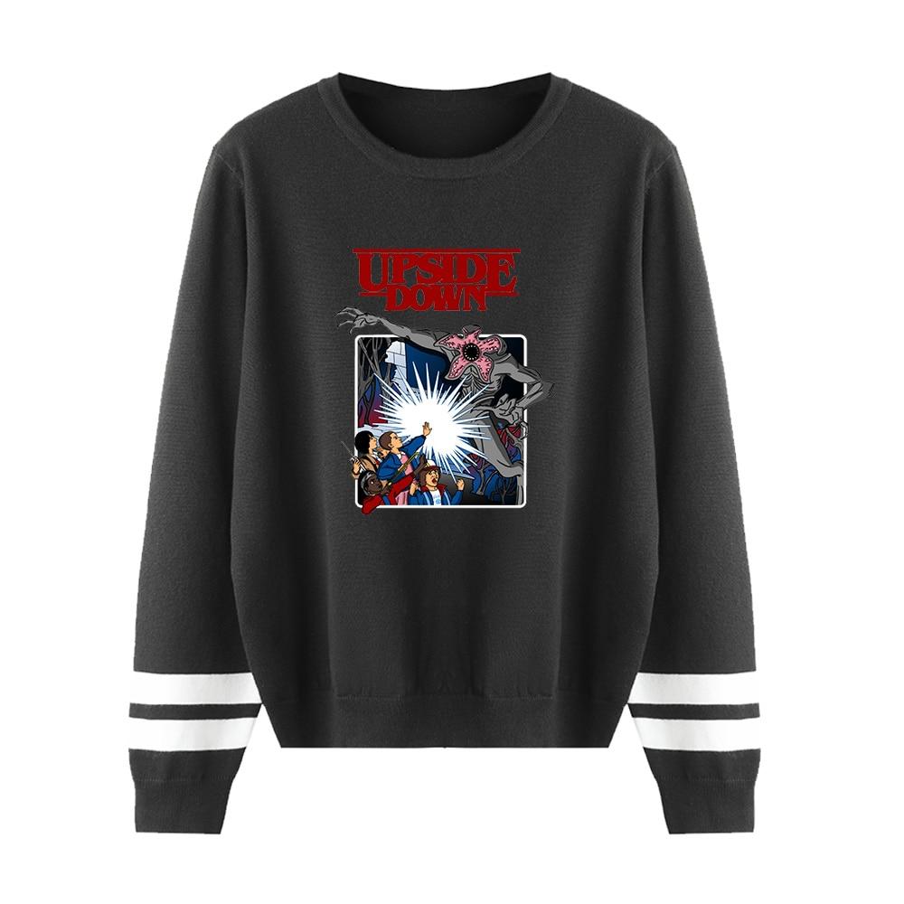 Stranger Things Sweater Men/women 2019 Aikooki Hot Sale Print Sweatshirt Stranger Things Round Neck Sweater Harajuku Casual Top