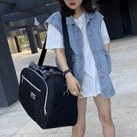 Korean travel bag with large capacity and large storage bag multifunctional portable foldable luggage bag