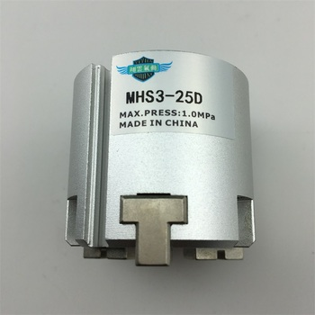 MHS3-50D MHS3-63D MHS3-80D MHS3-100D MHS3-125D Parallel Style Air Gripper/3-Finger Type MHS series pneumatic components
