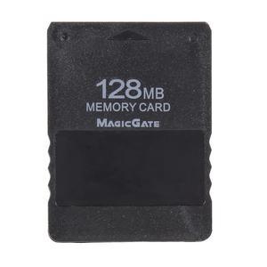 Image 1 - 128mb cartão de memória jogo salvar dados, módulo de vara para sony ps2 para playstation 2 acessórios para jogos de cartão de memória alta qualidade, alta qualidade