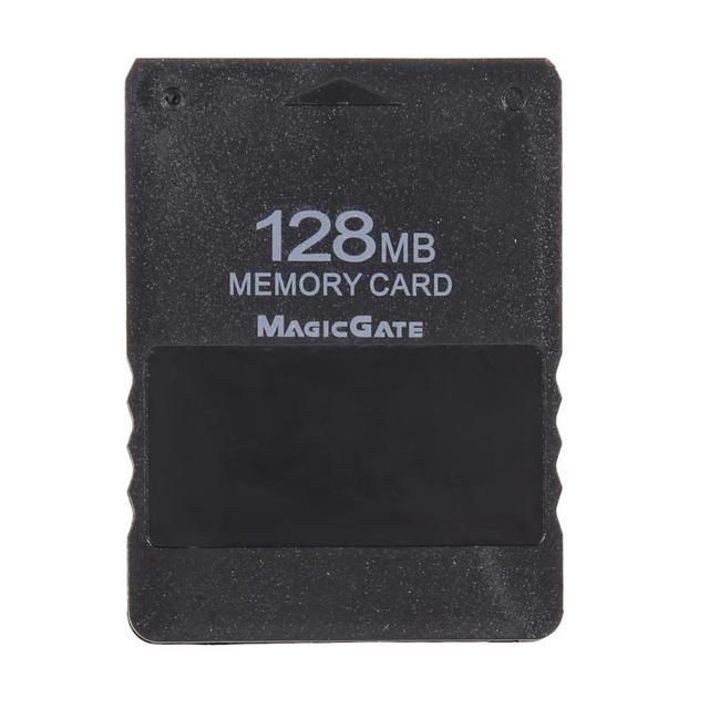 128mb cartão de memória jogo salvar dados, módulo de vara para sony ps2 para playstation 2 acessórios para jogos de cartão de memória alta qualidade, alta qualidade