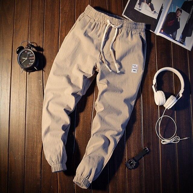 Pantalones largos informales populares para hombre, venta al por mayor, novedad, otoño e invierno, a la moda, MC365, 2019 6