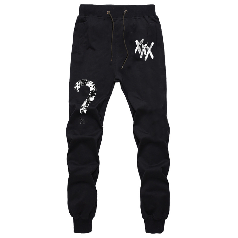 Xxxtentacion Drawstring Pants Fashion Cotton Sport Pants Jogger Jogging Pants