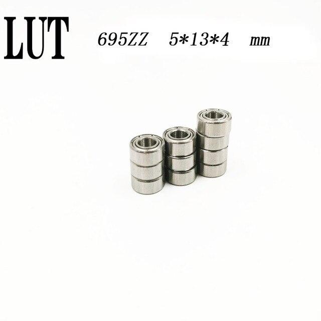 Haute qualité 50pcs ABEC-5 paroi mince roulement à billes 698ZZ 8*19*6 mmdeep à billes 698ZZ Roulements Miniatures