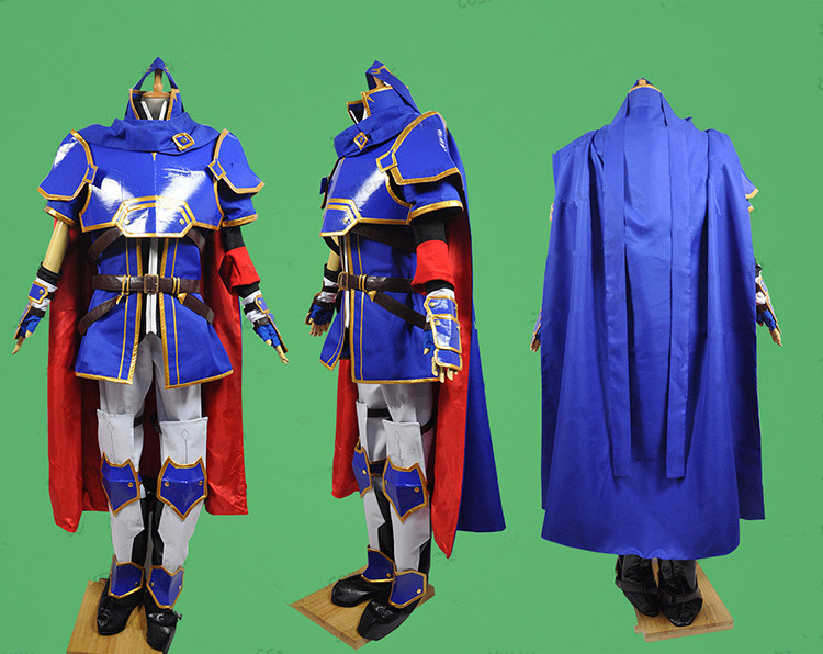 Game Fire Emblem-Sealed Sword Roy Cosplay Costumes Hero Combat Unifrom Suit Unisex Party Role Play Prop Clothing Custom-Make