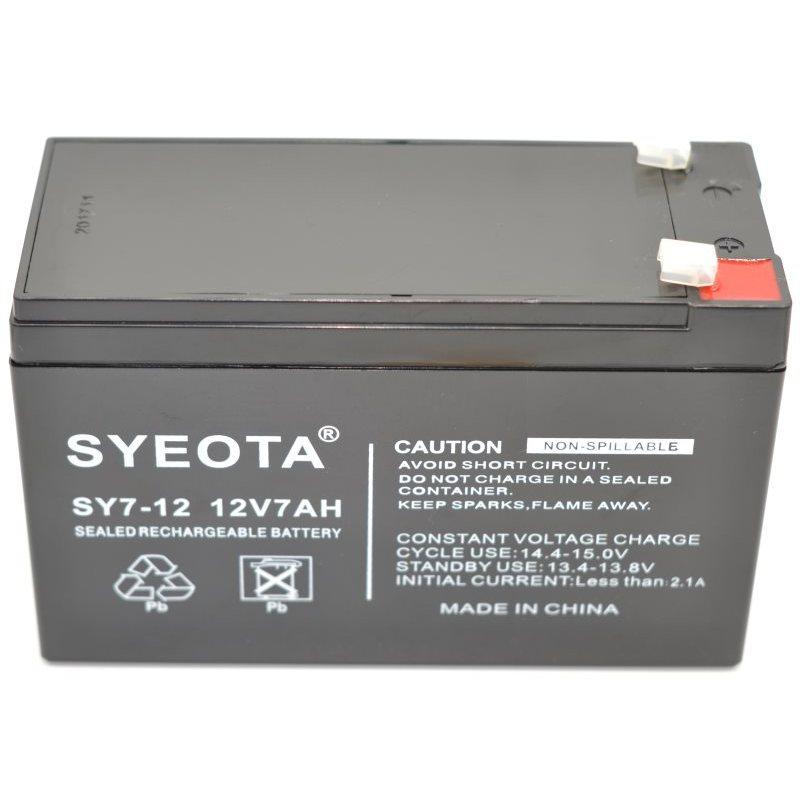 Lead Battery 12 V/7Ah SY7-12, NP7-12, FG20721, LC-R127R2PG, NP7-12L цена 2017