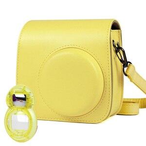 Image 3 - Fujifilm Instax Mini 9 8+ 8 Camera Accessories Bundle Set Shoulder Bag Case/Photo Album/Film Frame/Filters/Selfie Lens Kit