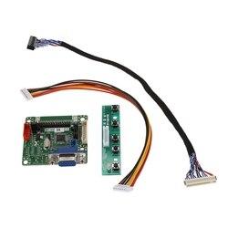 Mt561 B uniwersalny Lvds ekran monitora lcd sterownik płyta kontrolera 5V 10 Cal 42 Cal laptop części Diy zestaw w Mierniki częstotliwości od Narzędzia na