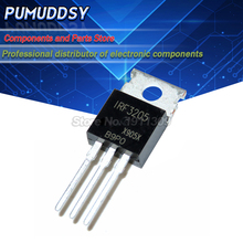 10 sztuk IRF3205 IRF3205PBF MOSFET MOSFT 55V 98A 8 mhz 97.3nC do 220 IC