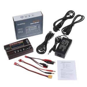 Image 5 - B6 v3 80w 6a lipo bateria balance carregador descarregador versão de atualização com adaptador de alimentação