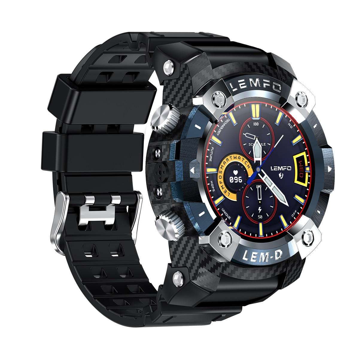 Hf4eb5c76503f4bfabb8970946a0cdd52L LEMFO LEMD Smart Watch Wireless Bluetooth 5.0 Earphone 2 In 1