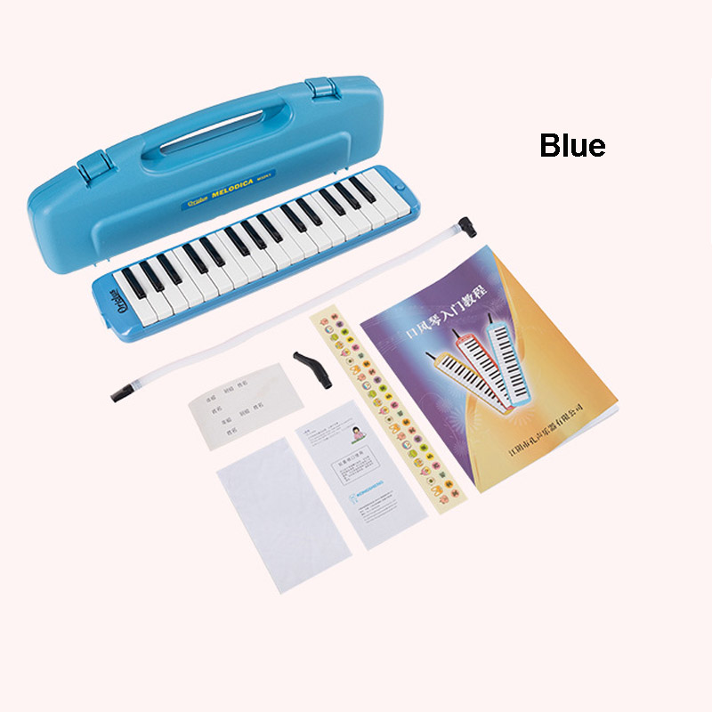Купить с кэшбэком KONGSHENG 32 Keys Melodica Piano Keyboard Style w/ Hard Storage Case Mouth Organ  Children Students Musical Instrument Oriolus