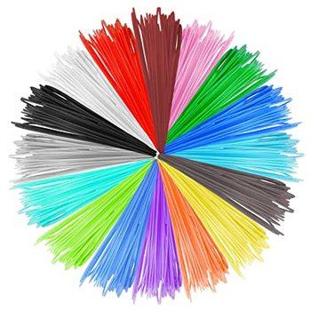 UCRT 200 Meter 20 color 1.75mm 3D Pen or 3д Pen PLA ABS filament  3d print plastic Material for 3 D printer drawing supplies pen
