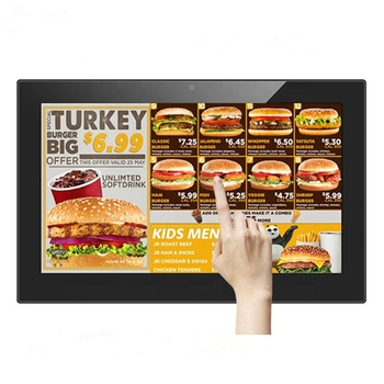 18.5 Inch Indoor Android Wifi Lcd Advertising Display Monitor