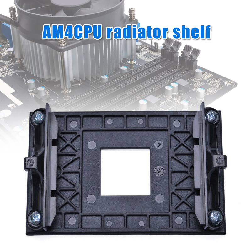 Stable CPU Socket Mount Cool Fan Heatsink Bracket for <font><b>AMD</b></font> AM4 <font><b>B350</b></font> X370 A320 X470 DJA99 image
