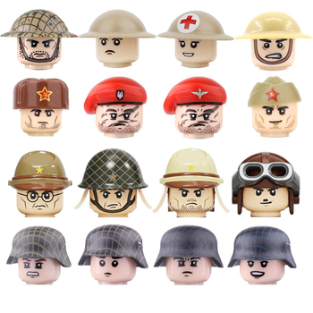 2017 new kazi 4pcs building blocks wolf tooth field team militray army weapons compatible with legoe solider bricks toys 1PCS WW2 Army Soldiers Weapons Accessories Building Blocks Military WW2 Soviet Union Guns Weapons Bricks Parts Toys for Children