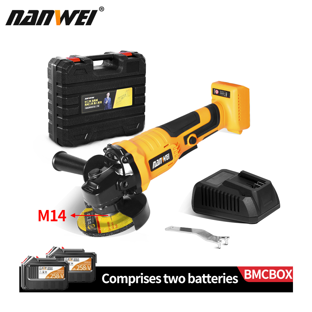For MAKITA CORDLESS BRUSHLESS ANGLE GRINDER POLISHER Without Battery Grinding Machine DIY Woodworking Tool