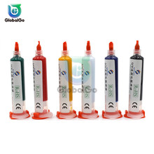 10cc UV Syringe Liquid Flux Soldering Paste Mechanic Solder Tin Paste Solder Paste Flux For BGA PCB Phone Repair Welding Oil flux paste 100% hong kong mechanic rma uv10 bga solder flux paste soldering tin cream solder