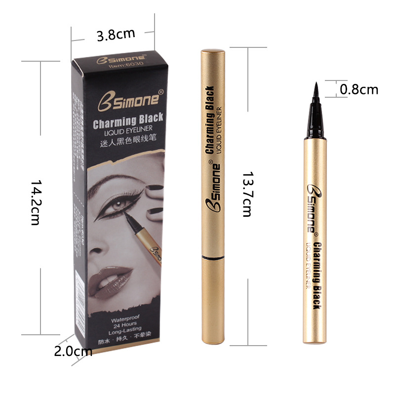 Eye pencil beauty cosmetics eyeshadow pencil waterproof long lasting easy to smudge quick drying vacuum aluminum tube design in Eyeliner from Beauty Health