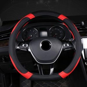 Image 3 - D Typ Auto Auto Lenkrad Abdeckung Wrap Volant Für Kia K5 Ceed GT Stonic Gehen Sportage 2021 2020 2019 2018 2017 GT Sport