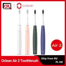 Oclean Air 2 Sonic Elektrische Zahnbürste Erwachsene Zahnbürste Noise Reduktion Sanfte Zähne Reinigung Magnetische Quick Charge 40 Tage