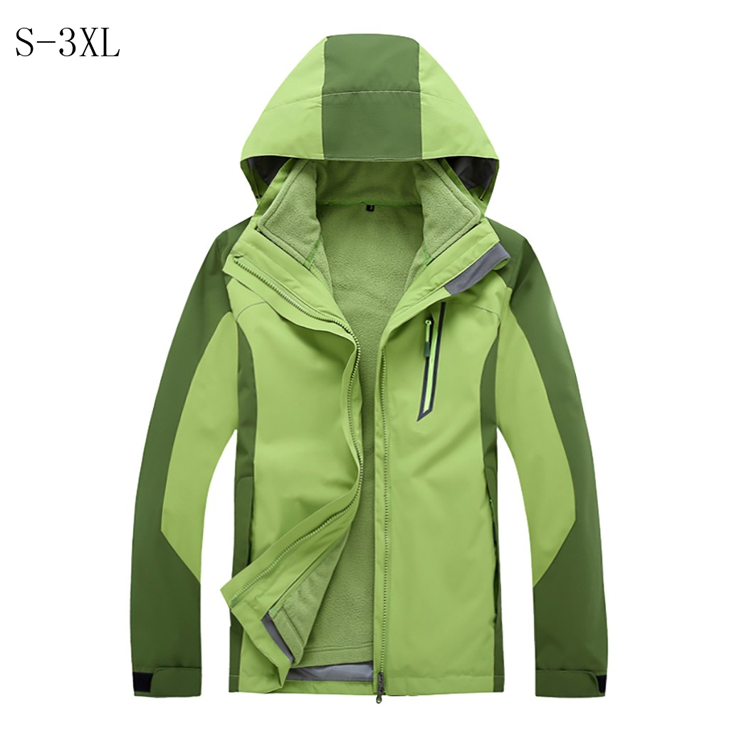 loose thick Solid waterproof Windbreaker windproof brand jacket warm classic   Trench   men's Long Sleeve Quality coats hooded