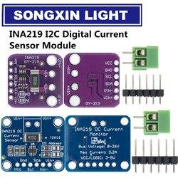 1 шт. SOT23 INA219 двунаправленный источник питания постоянного тока с датчиком прорыва модуль DIY 3В-5В IIC I2C Модуль датчика контроля мощности