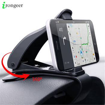 Car Phone Holder for Cell Phone in Car GPS Dashboard Bracket For iPhone 11 XR 7 Samsung Xiaomi Universal 360 Mount Stand Holder new arrival smart cell phone holder mount head up display car hud phone gps navigation wireless charger stand for iphone 8 plus