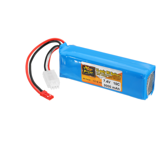 ZOP Power <font><b>7.4V</b></font> 2S <font><b>3000mah</b></font> 10C <font><b>Lipo</b></font> <font><b>Battery</b></font> Rechargeable For Frsky Taranis X9D Plus Transmitter Spare Parts Remote Controller image